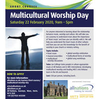 Multi Cultural Worship Flyer20